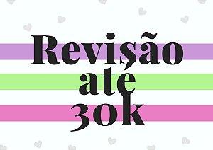 Revisão até 30 mil palavras