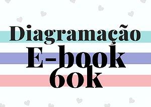 Diagramação e-book até 60 mil palavras