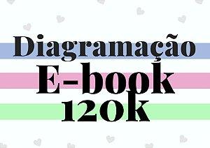 Diagramação e-book até 120 mil palavras