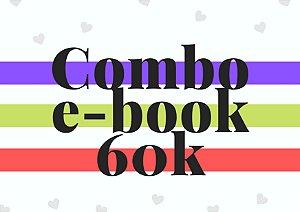 Combo e-book até 60 mil palavras