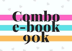 Combo e-book até 90 mil palavras