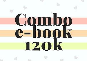 Combo e-book até 120 mil palavras