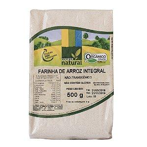 Farinha de Arroz Integral 500g - Sem glúten