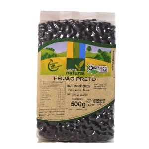Feijão Preto 500g - Sem glúten