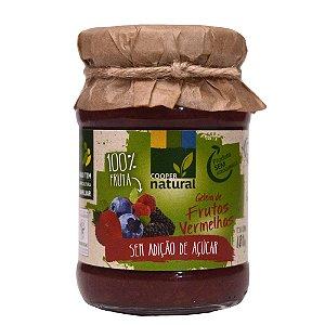 Geleia de Frutas Vermelhas 180g - Sem adição de açúcar