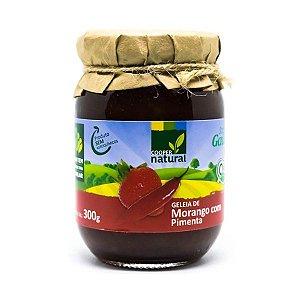 Geleia de Morango com Pimenta com pedaços de fruta 300gr