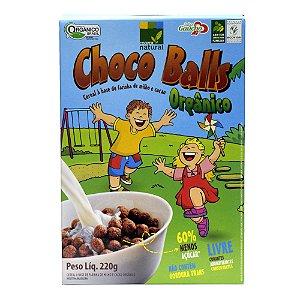 Choco Balls - Cereal a base de Farinha de Milho 220g - Sem Glúten