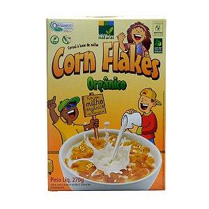 Corn Flakes - Cereal a base de Farinha de Milho 270g -  Sem Glúten