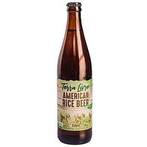 Cerveja American Rice Beer 500ml (Cerveja de arroz) - Parceria com a Coop. Terra Livre.