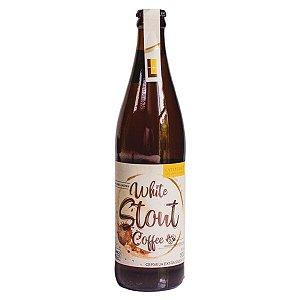 Cerveja White Stout Coffee 500ml - Parceria Café orgânico Latitude 13 da Bahia.