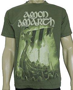 Amon Amarth - malha verde