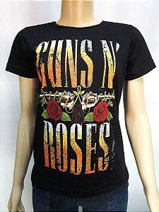Guns n Roses Logo Feminina