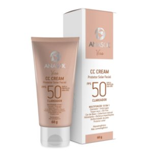 Anasol CC Cream Facial FPS 50 60g Clareador