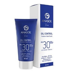 Anasol Protetor Solar Facial Oil Control FPS 30 60ml