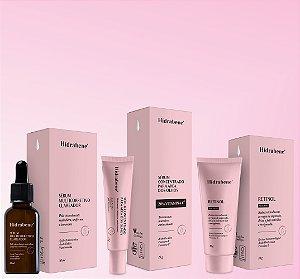 HIDRABENE Kit Tratamento Anti-Aging E Anti-Oxidante Facial