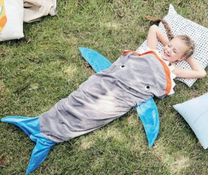 Manta Infantil Saco de Dormir