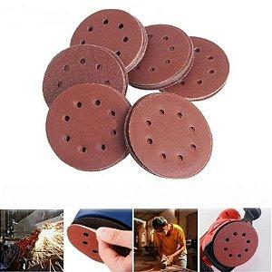 Discos de Lixa p/ Madeira OU Ferro com Velcro (Vendidos separadamente)