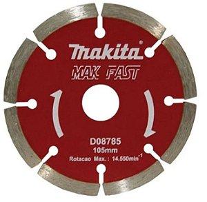 Disco Makita 8785 Corte Pedras Furo 20mm (Corte a Seco e Úmido)