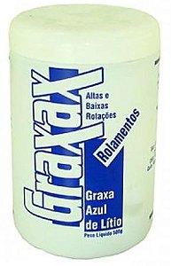 Graxa Azul Lítio - 500g (Rolamentos - Altas e Baixas Rotações)