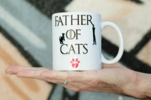Caneca Father Of Cats