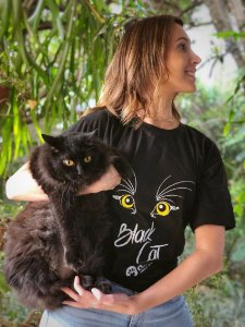Camiseta Black Cat