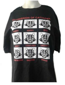 Camiseta Expression of CatVader