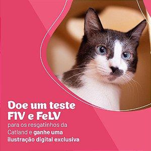DOAÇÃO TESTE FIV e FeLV