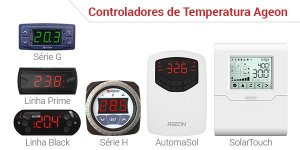 CONTROLADOR DE TEMPERATURA AGEON 106