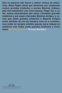 MESTRES ANTIGOS - BERNHARD, THOMAS
