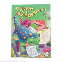 ATIVIDADES DE DINOSSAUROS: VERDE - LITTLE PEARL BOOKS