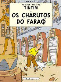 OS CHARUTOS DO FARAÓ - HERGÉ