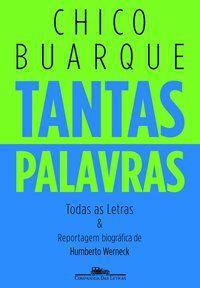 TANTAS PALAVRAS - BUARQUE, CHICO