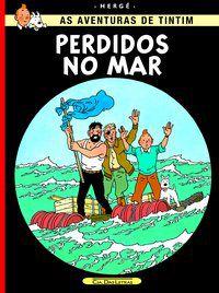 PERDIDOS NO MAR - HERGÉ