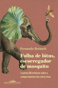 FOLHA DE LÓTUS, ESCORREGADOR DE MOSQUITO - REINACH, FERNANDO