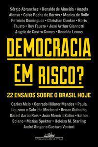 DEMOCRACIA EM RISCO? - AUTORES, VÁRIOS