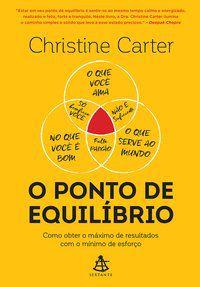 O PONTO DE EQUILÍBRIO - CARTER, CHRISTINE