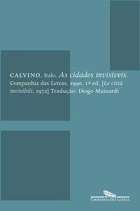 AS CIDADES INVISÍVEIS - CALVINO, ITALO