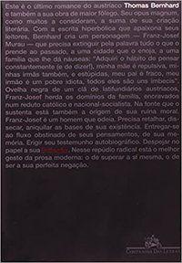 EXTINÇÃO - BERNHARD, THOMAS