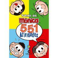 551 ATIVIDADES TURMA DA MONICA - MAURICIO DE SOUZA PRODUÇÕES