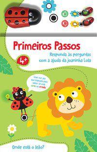 ONDE ESTÁ O LEÃO?: PRIMEIROS PASSOS - YOYO BOOKS