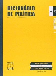 DICIONARIO DE POLITICA VOL I E II (13A ED. REIMPRE - BOBBIO, NORBERTO