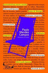 PRIMEIRAS LEITURAS - CAMPOS, PAULO MENDES