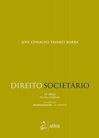 DIREITO SOCIETÁRIO - BORBA, JOSÉ EDWALDO TAVARES