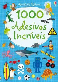 1000 ADESIVOS INCRÍVEIS AZUL - USBORNE PUBLISHING