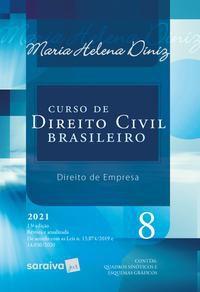 CURSO DE DIREITO CIVIL BRASILEIRO - VOL. 8 - 13ª EDIÇÃO 2021 - DINIZ, MARIA HELENA