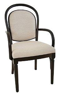 Cadeira Luxemburgo Gold com braços
