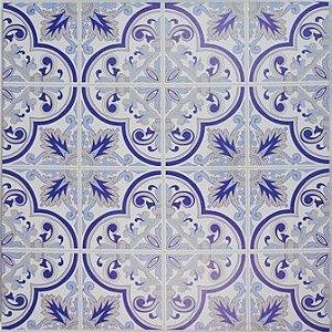 Quadro Inspiração Azulejos