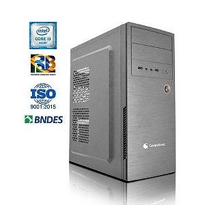 Desktop Leadertech Prime (CORE I3 10105F / GBA H410 / 4GB DDR4 / SSD 256GB M.2 / 200W / GT210 1GB)