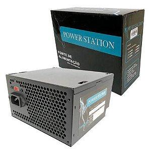 Fonte de Alimentação Atx Desktop 500w PS-500W Power Station