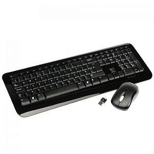 Kit Mouse e Teclado Sem Fio 850 2 Microsoft